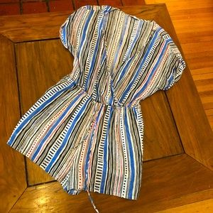 Patrons of Peace stripped romper M